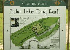 Echo Lake Design  Dog Park Design  Dog Park Layout  Union County