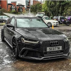 Audi … - Cars and motor Audi Rs6, Audi A3 Sportback, Allroad Audi, Audi Sport, Sport Cars, Bmw Cafe Racer, Supercars, Carros Turbo, Audi Autos