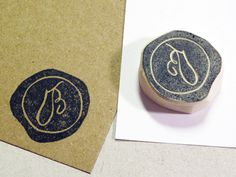 Custom Seal Rubber Stamp  Customized with Your by LetterKay, $10.00