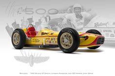 1958 Belond AP Special  Laydown Roadster, Indy 500 Winner  Jimmy Bryan