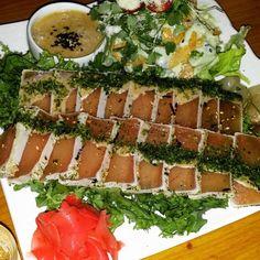 Tuna tataki #たたき #tunatataki #tataki #ingyedong #japanesefood by jeeeyaee