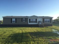 Exterior Of 8140 CR 1010 Joshua Texas Fully Reconditioned Mobile Home For Sale