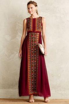 Tanvi Kedia Bajwa Maxi Dress #anthrofave #sale
