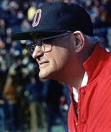 I spent many Saturdays watching Woody as the Ohio State football coach--yes, back then it was Ohio State, not THE OHIO STATE UNIVERSITY!