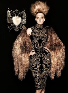 YOUR MAJESTY BY CHRIS NICHOLLS – DEC. 2011  #fashion #style
