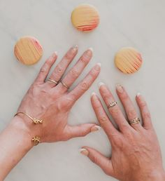 wedding day nail ideas