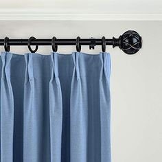 The Kamanina Black Curtain Rod has a unique netted texture finials on either end that provides a visually special and vintage appearance. Telescoping Structure: The adjustable curtain rods can easily extend from 72 to 144 Inches, applies to windows with different sizes, ideal for your kitchen, bedroom or living room Robust and sturdy: 1 Inch diameter and 0.5 mm rod thickness, capable of bearing heavier fabrics such as grommet curtains and clips light drapes; Weight capacity up to 22 pounds… Black Curtain Rods, Curtain Brackets, Decorative Curtain Rods, Grommet Curtains, Fabrics, Windows, Texture, Living Room, Bedroom