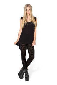 Burned Cheetah Leggings – Black Milk Clothing