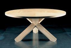 Mesa de Comedor Redonda Madera http://dizenos.cl/mesa-de-comedor-redonda-madera/