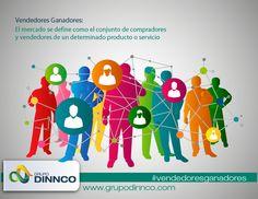 Vendedores Ganadores: El mercado se define como el conjunto de compradores y vendedores de un determinado producto o servicio. #vendedoresganadores