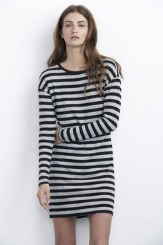 Velvet by Graham & Spencer :: Stripe Dress