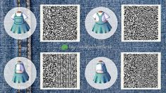 Animal Crossing 3ds, Animal Crossing Qr Codes Clothes, Motif Acnl, Ac New Leaf, Hair Patterns, Happy Home Designer, Post Animal, Rainbow Painting, Animal Games