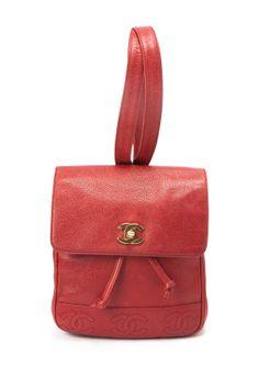 Vintage Chanel Leather Backpack