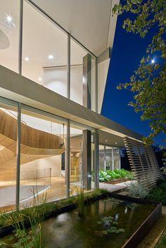 Casa en Los Angeles, CA - Belzberg Architects - © Bruce Damonte