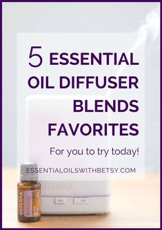 Diffuser blends are