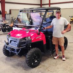 Thanks to Roger Seymour from Seminary MS for getting a 2016 Polaris Ranger 570 at Hattiesburg Cycles