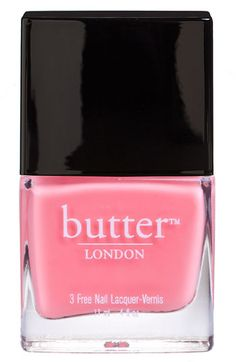 MUST HAVE!!! London Butter in Trout Pout...this is the absolute best brand of polish ever.