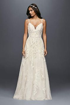 Searching for the latest wedding gowns & newest wedding dress designs? David's Bridal offers an extensive 2016 & 2017 new wedding dresses collection. Shop online now!