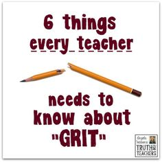What grit is (and isn't) and how to teach it responsibly. Brief pod cast about GRIT Education Quotes For Teachers, Quotes For Students, Quotes For Kids, Teacher Resources, Primary Education, Teacher Tools, Teaching Grit, Teaching Tips, Talk Is Cheap