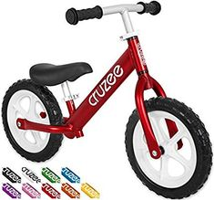 Radio Flyer Glide N Go Balance Bike With Air Tires Outdoor Toys