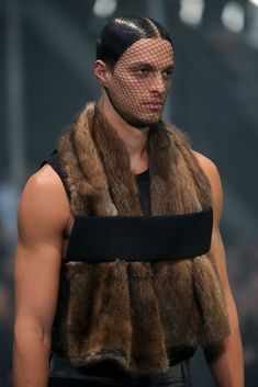 Givenchy Fall 2014 Menswear collection.
