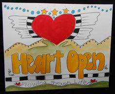 Heart Open by HumanTuneUp on Etsy