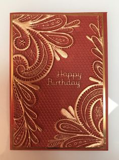 Crafter's Companion 3D embossing folders!