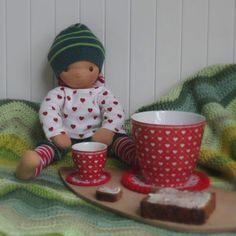 Barbaras Blumenkinder und Puppen Welt: Post von Dreikäsehoch-Cousine VICKIE