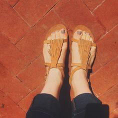 Savvy Shoes: Nochella Fringe Sandals