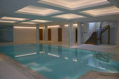 Another stunning basement pool