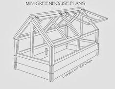 Mini-greenhouse plans