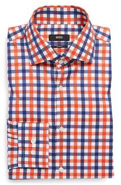 HUGO BOSS 'Miles' Sharp Fit Dress Shirt