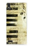 High Quality Huawei P6s Case Vintage Piano Pattern Mobile Phone Case for Huawei P6 P6S Phone cases Back cover