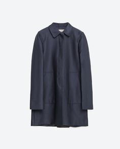 Image 8 of COAT WITH PETER PAN COLLAR from Zara