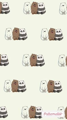 We bear bears discovered by on We Heart It We Bare Bears Wallpapers, Panda Wallpapers, Cute Cartoon Wallpapers, Cartoon Wallpaper Iphone, Disney Phone Wallpaper, Bear Wallpaper, Ice Bear We Bare Bears, We Bear, Bear Character
