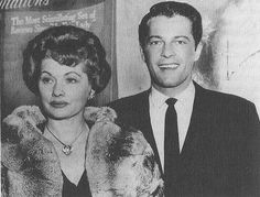 Lucille Ball with Robert Osborne of Turner Classic Movies