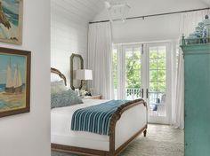 white coastal bedroom | Amy Studebaker Design