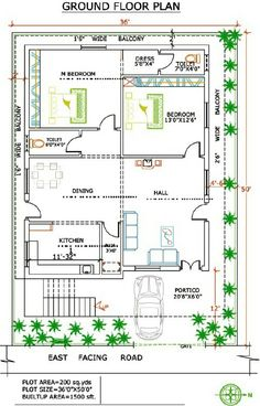 30 X 22 Floor Plans 30x40 House Plans Home Plans Ajilbab Com