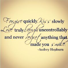 Audrey was a classy lady. I want to be like her when I grow up