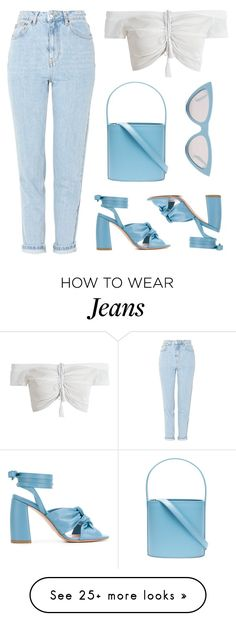"""Spring time"" by baludna on Polyvore featuring Topshop, Anna F., Staud and CÉLINE"