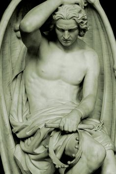 The Genius of Evil (1848), St. Paul's Cathedral, Liège.