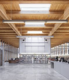 Stapleton Library, by Andrew Berman Architect, won the Beauty of Wood category (Photo: Nah...