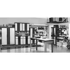 Kobalt garage cabinets lowes roselawnlutheran for Kitchen cabinets lowes with metal bridge wall art