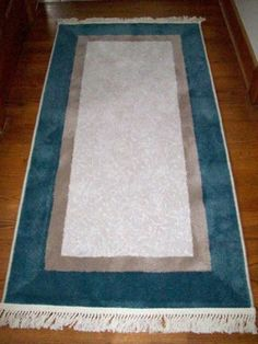Why area rugs should not be cleaned like carpets.