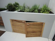 Leading garden design and landscaping company based in Fulham. Turning visions of outdoor living into reality. Back Garden Design, Garden Landscape Design, Patio Design, Garden Spaces, Balcony Garden, Garden Bike Storage, Small Garden Storage Ideas, Next Garden, Garden Seating