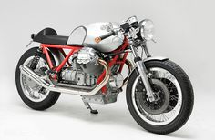 If you live in Germany and hanker after a custom Moto Guzzi, the man to speak to is Axel Budde of Kaffeemaschine.