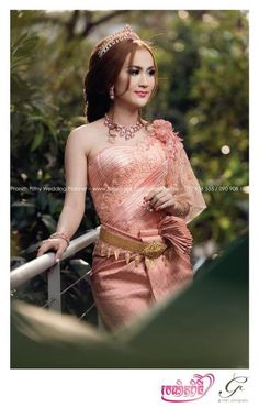 Beautiful of Cambodia wedding dress
