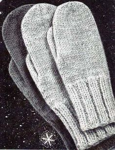 Free Knitting Patterns – Mittens and Gloves