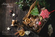 Pic: Christmas Handmade patterned gingerbreads