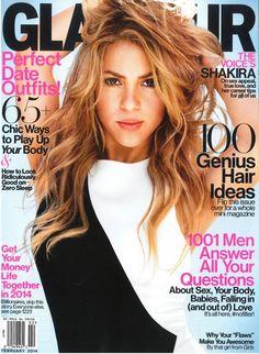 Shakira | Glamour (US), février 2014
